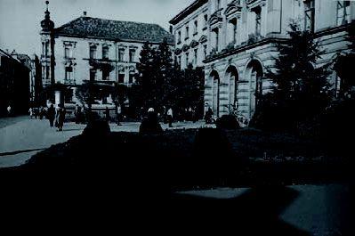 Schulgebäude in der Jahnstraße