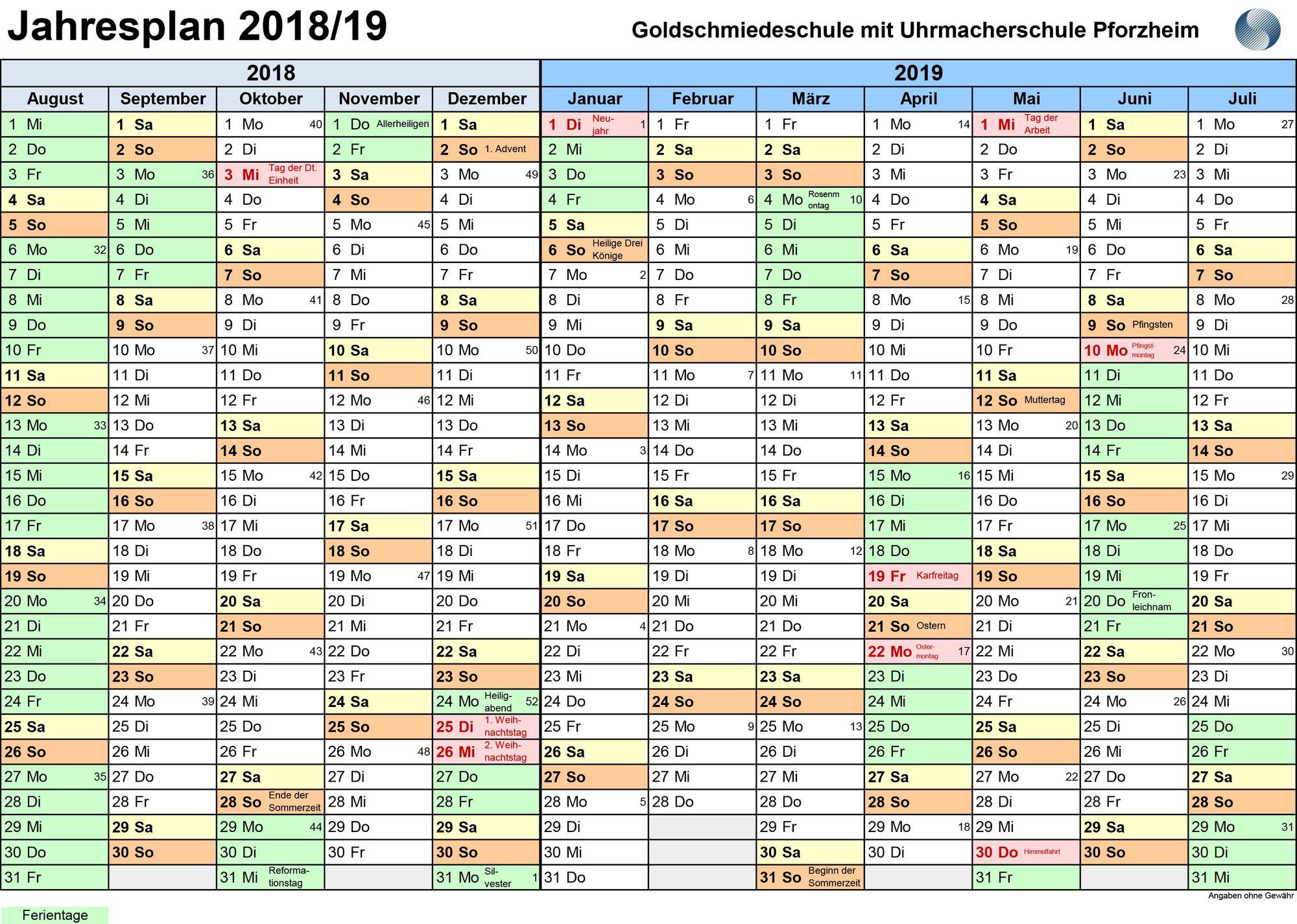 2018-2019-Jahresplan