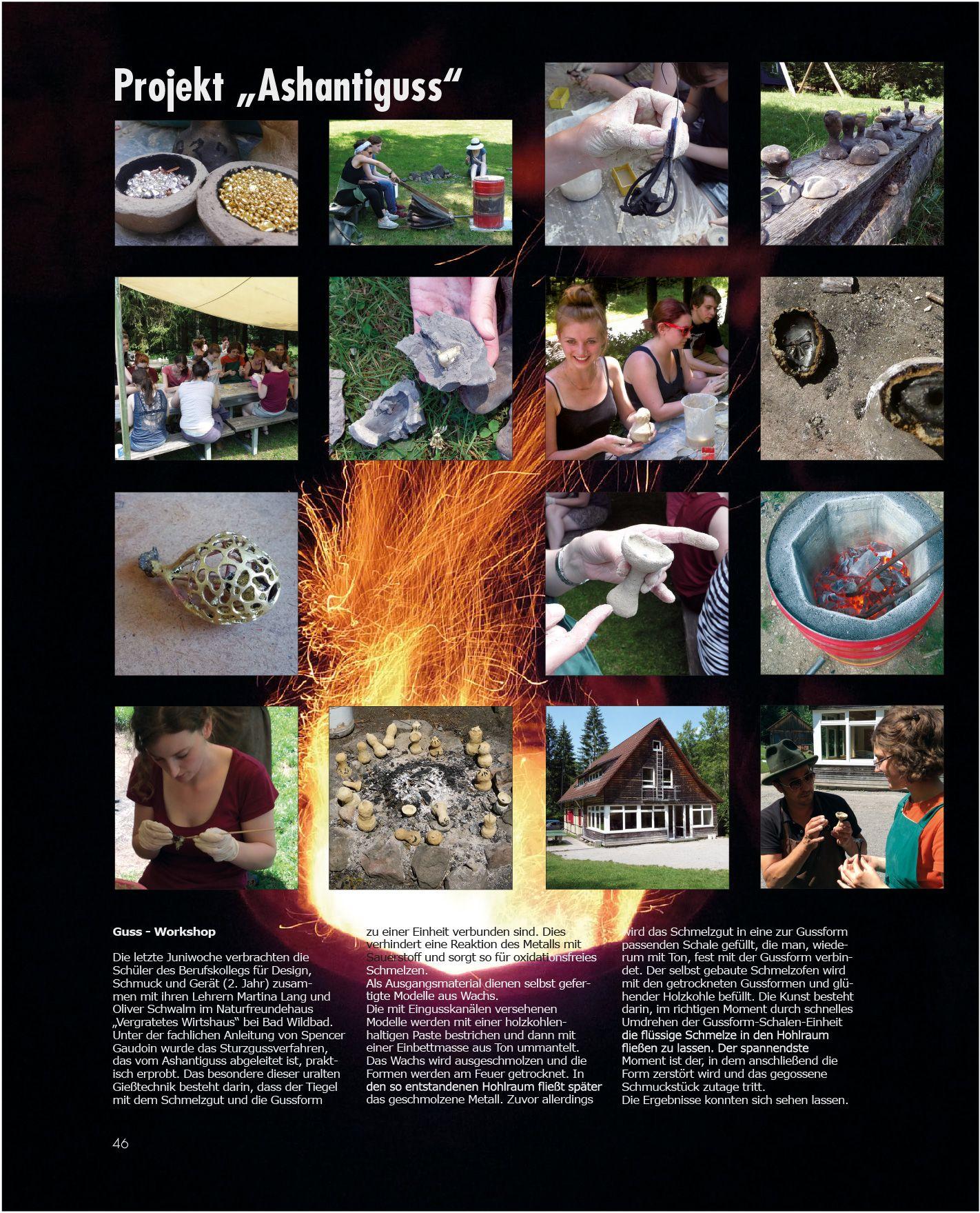 2015 - Projekt Ashantiguss - Berufskolleg